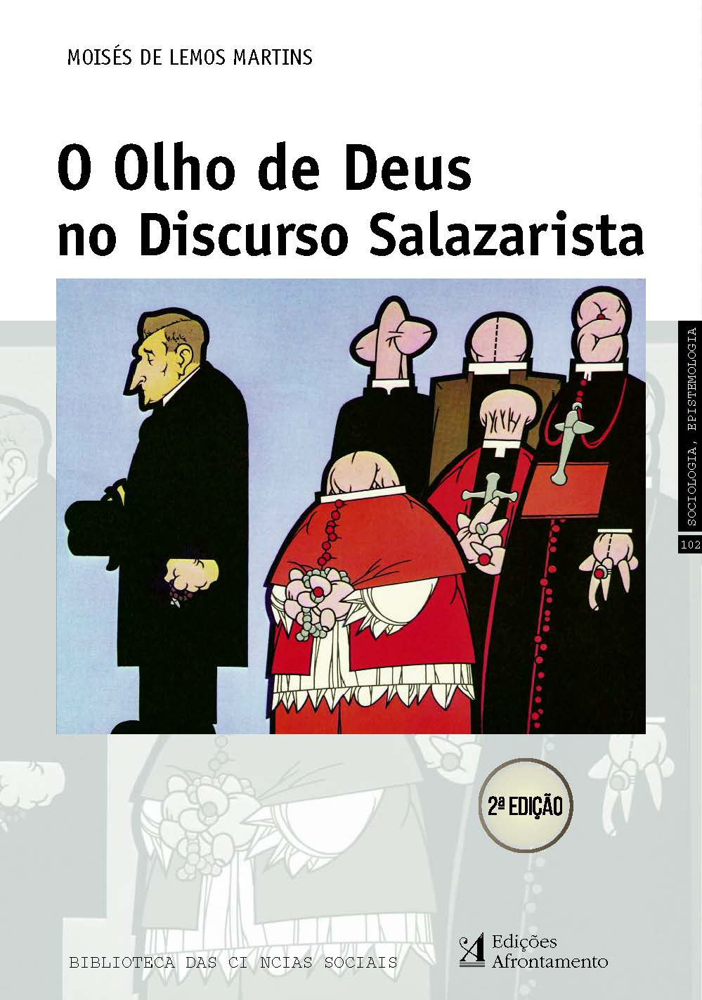 "The book ""O Olho de Deus no Discurso Salazarista"" will be preseted in Braga"