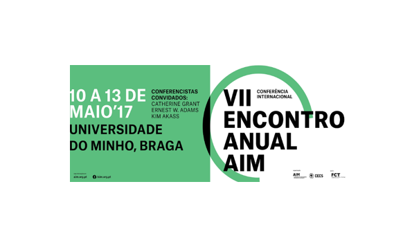 VII AIM Meeting: from10 to 13 may at University of Minho
