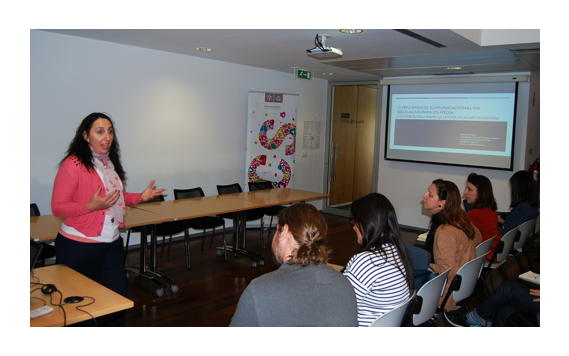 Bettina Martino, next invited speaker of the Permanent Seminar on Media Education