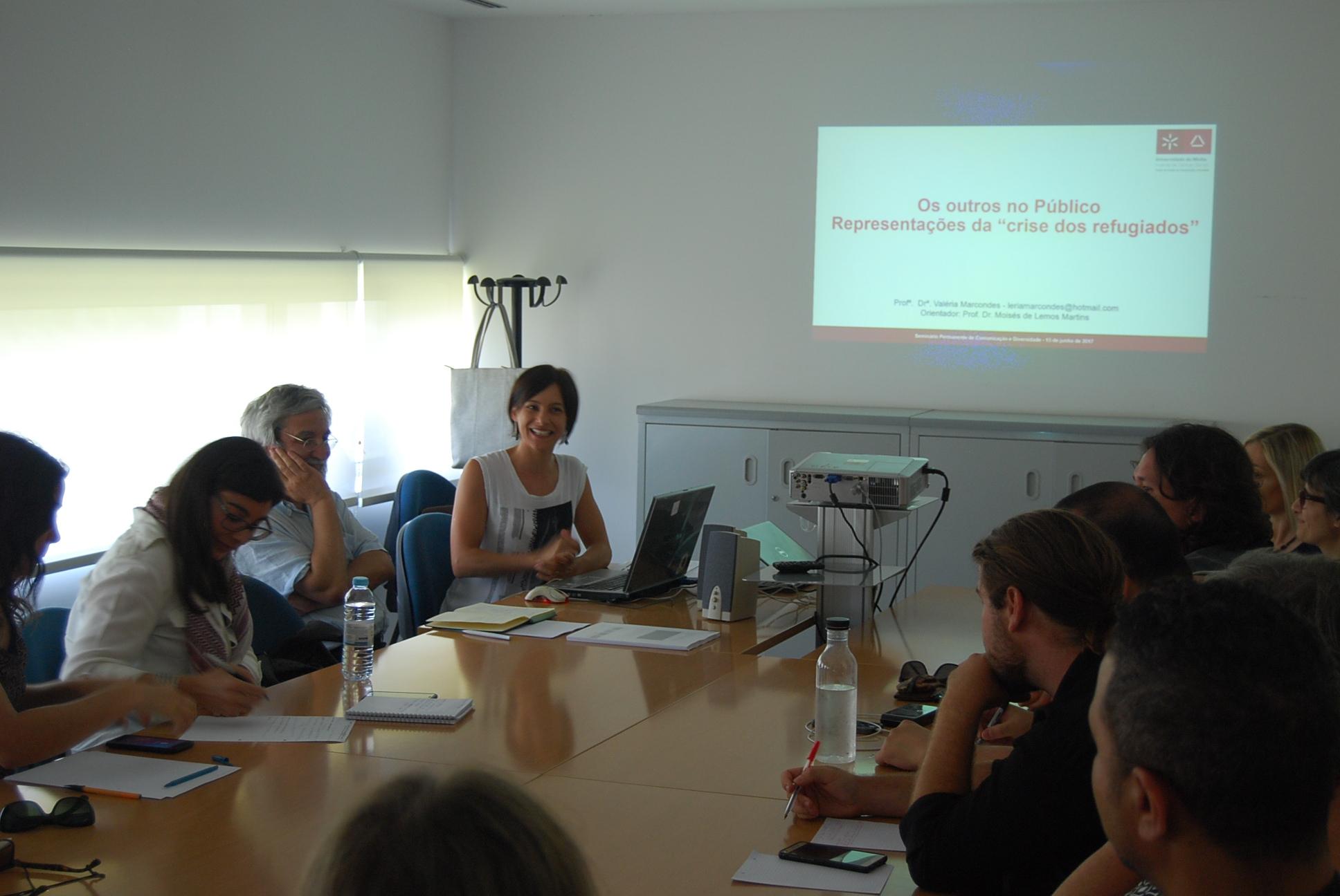 """A mediatização da """"crise dos refugiados"""" em discussão no Seminário Permanente de Comunicação e Diversidade"""