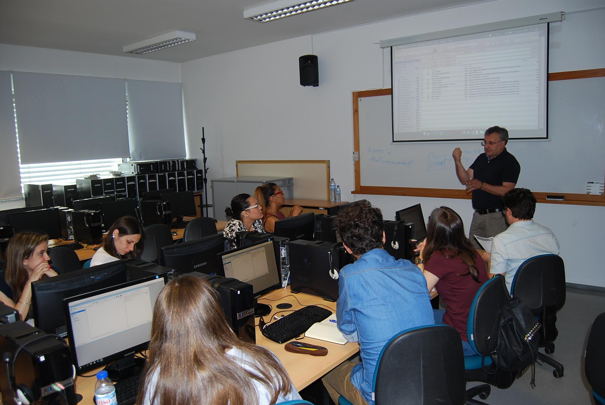 Ações de formação complementar do Doutoramento FCT em Estudos de Comunicação chegou ao fim