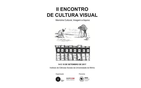 II Encontro de Cultura Visual da SOPCOM com chamada de trabalhos aberta até 20 de julho