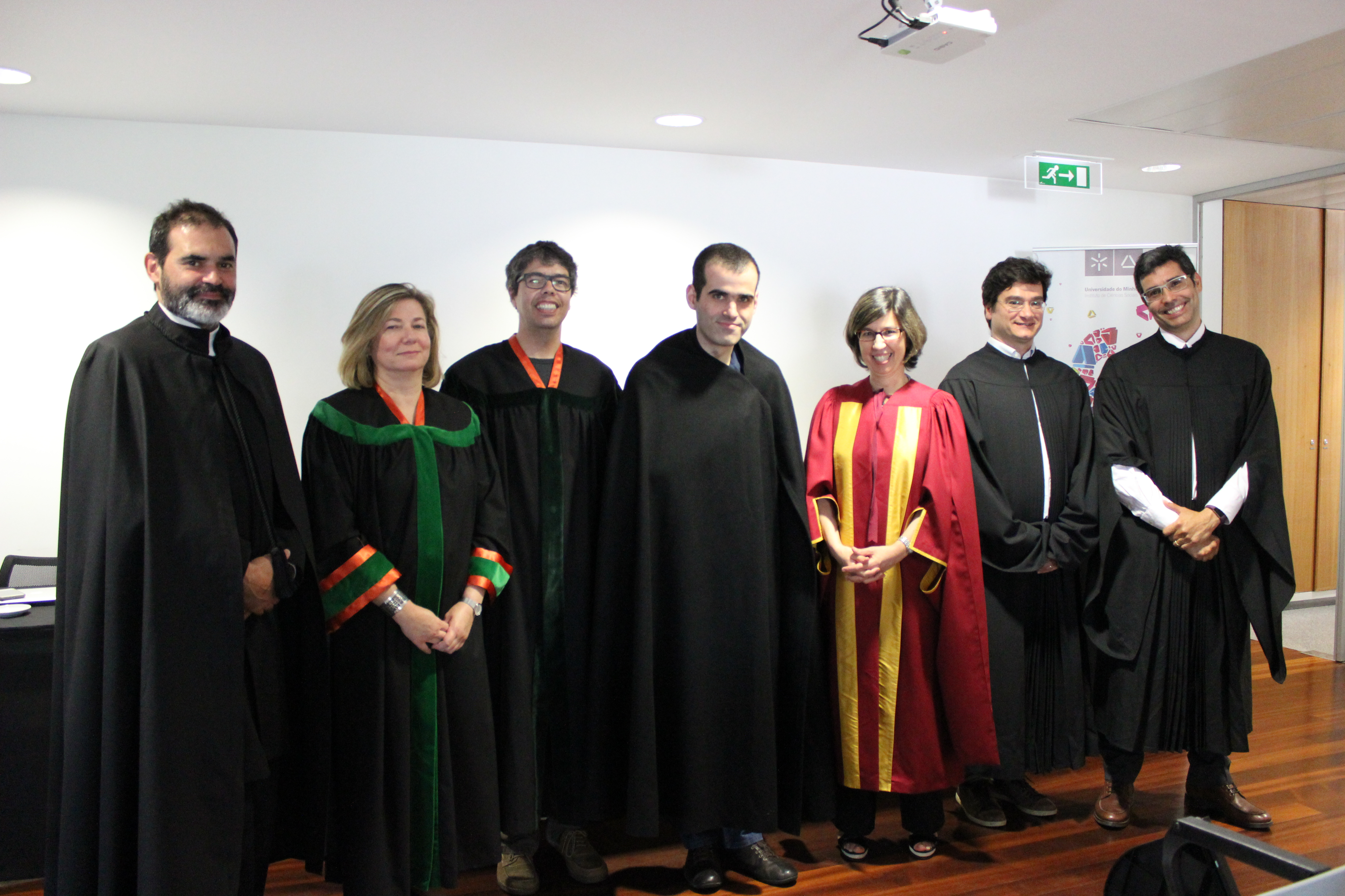 Pedro Pinto Neves: novo doutor em Ciências da Comunicação
