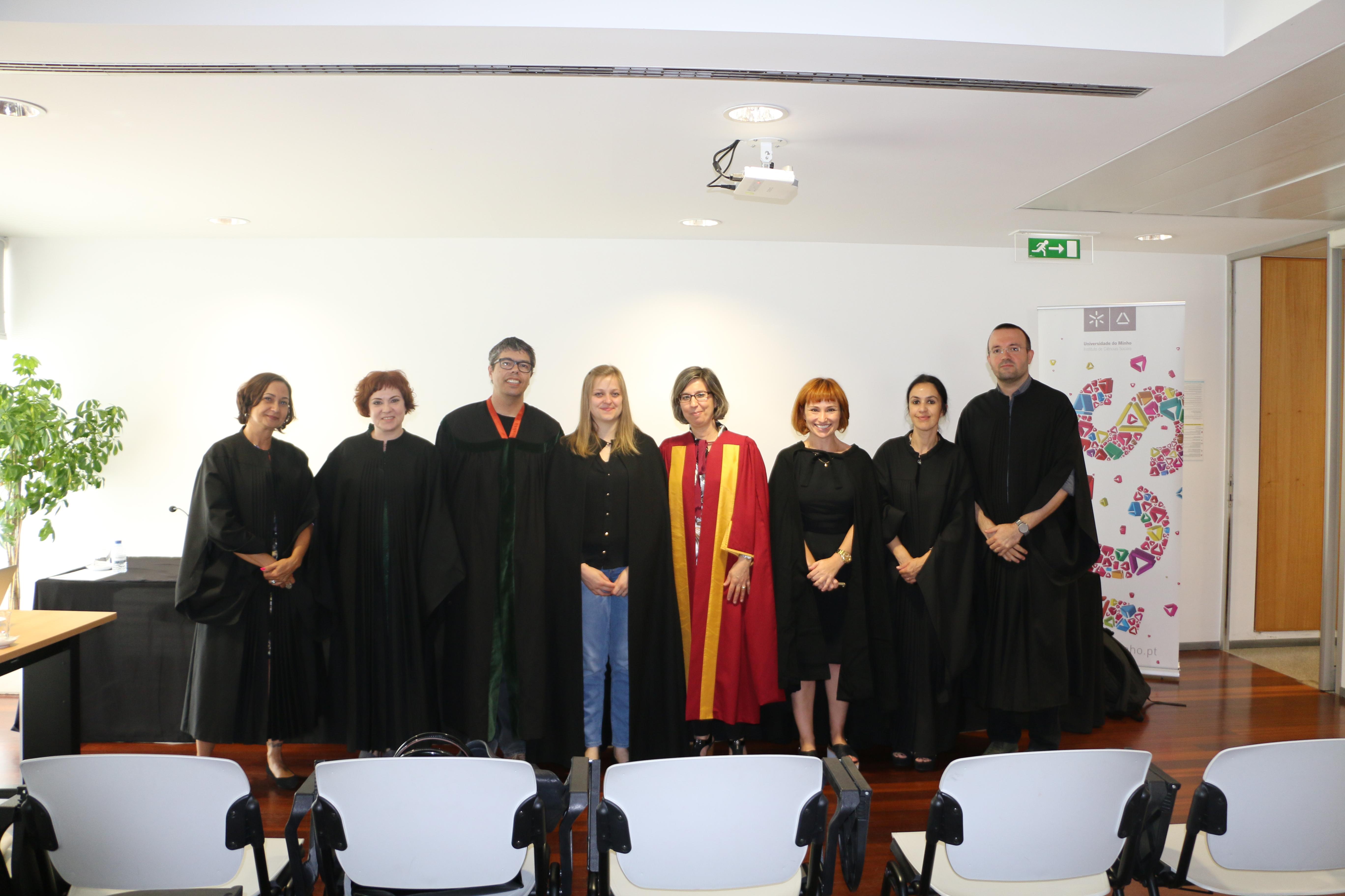 Tatiana Fátima Rehbein Ravanello: nova doutora