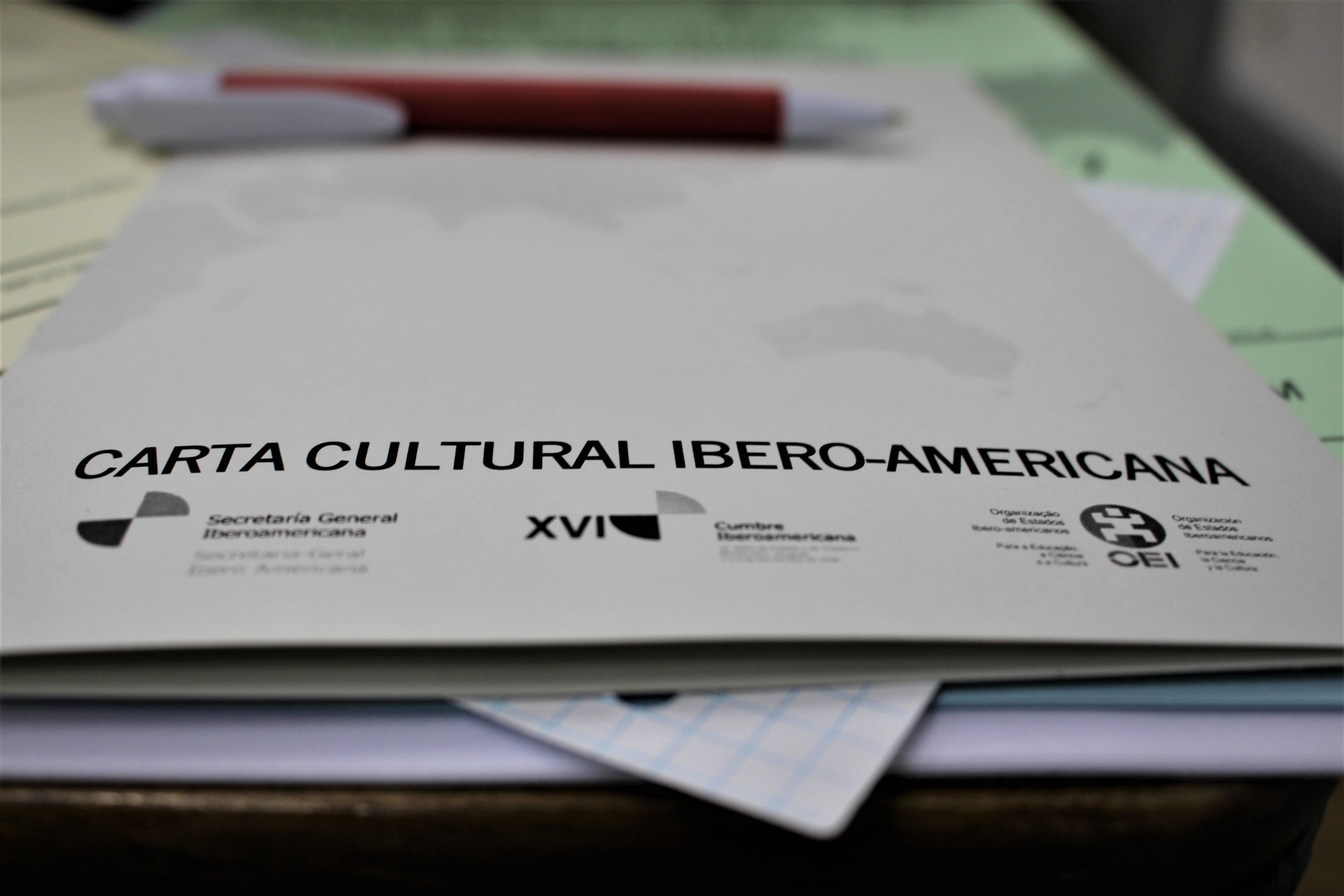 """2CN-CLabWorkingDay """"Carta Cultural Ibero-americana"""""""