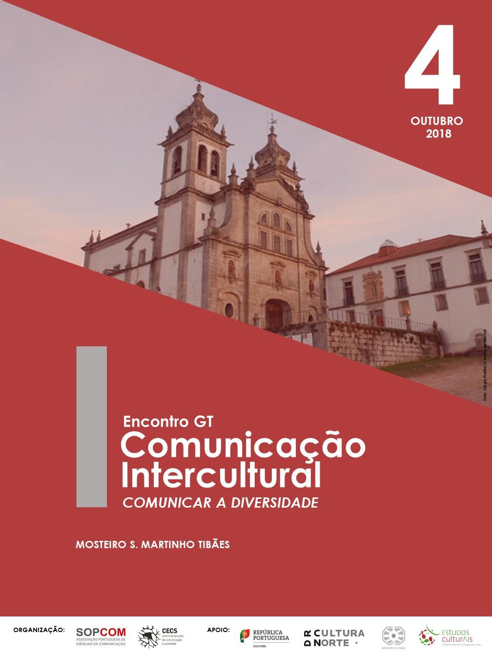 I Encontro do GT de Comunicação Intercultural da Sopcom com programa científico disponível