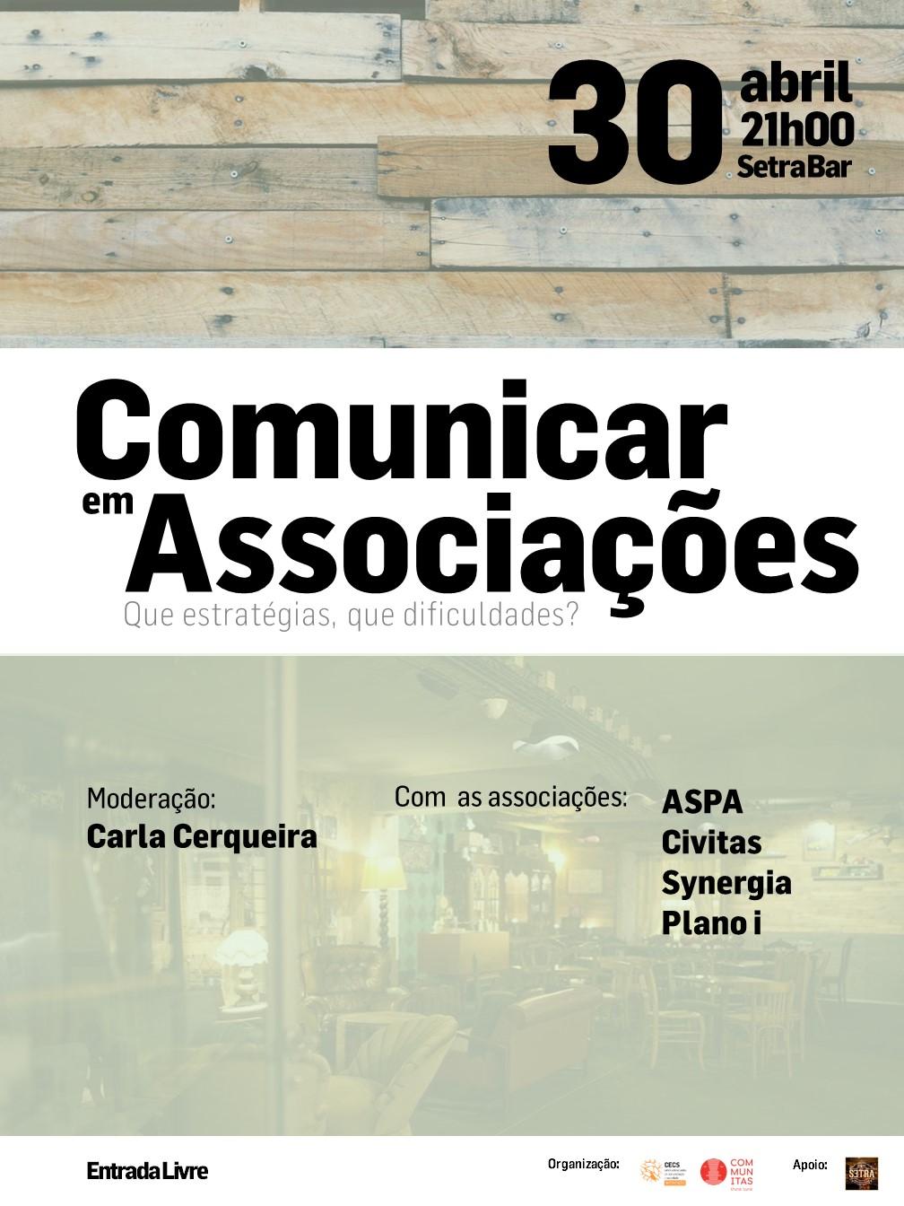 """CECS promove debate """"Comunicar em Associações. Que estratégias, que dificuldades?"""" no Dia do Associativismo"""
