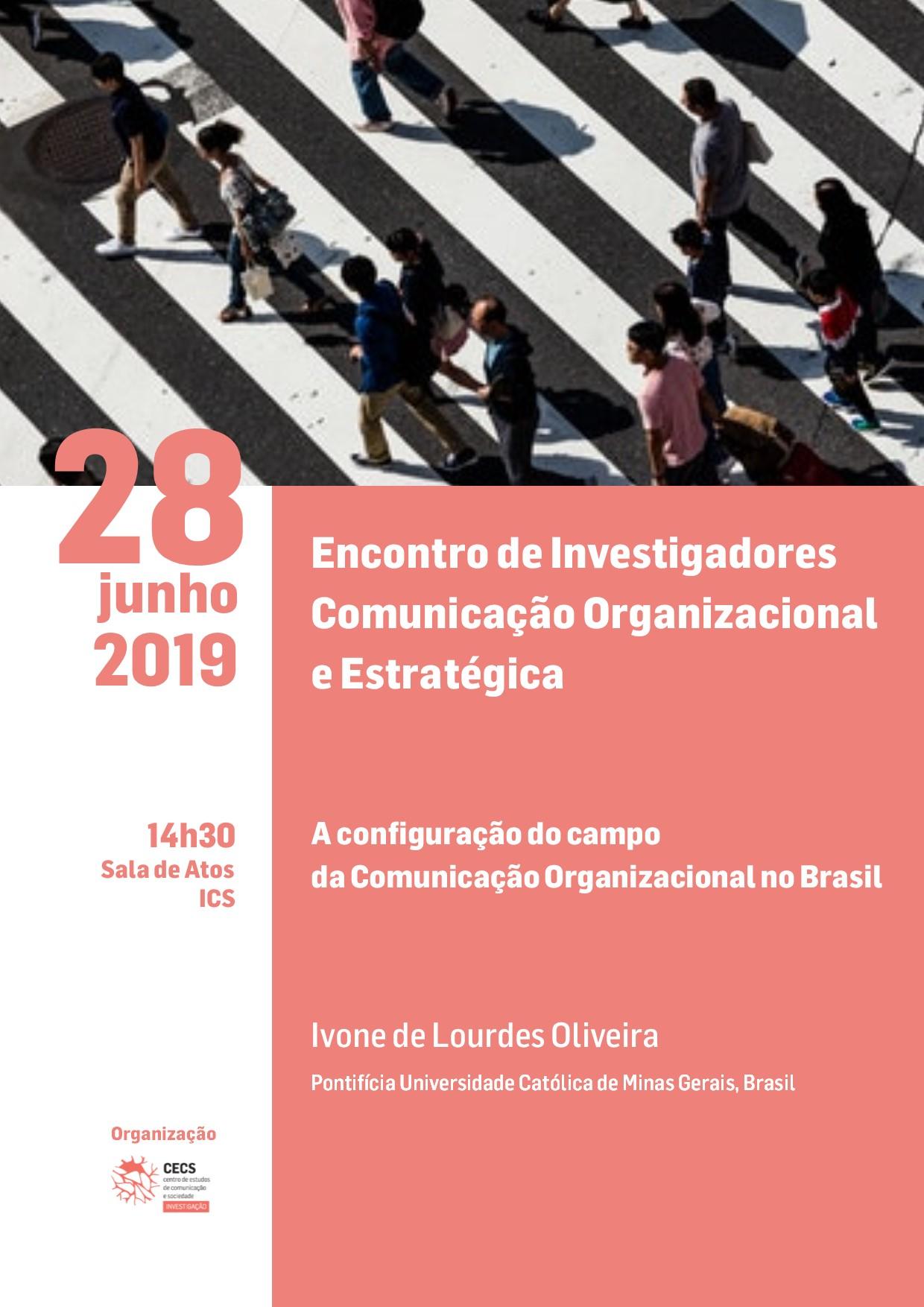 Encontro de Investigadores de Comunicação Organizacional e Estratégica