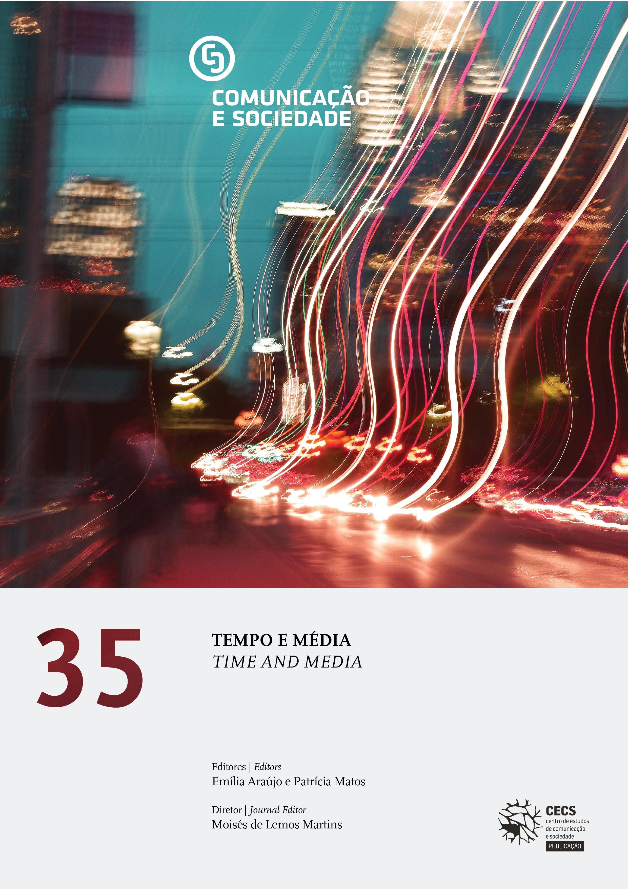 Available new volume of Comunicação e Sociedade on Time and Media