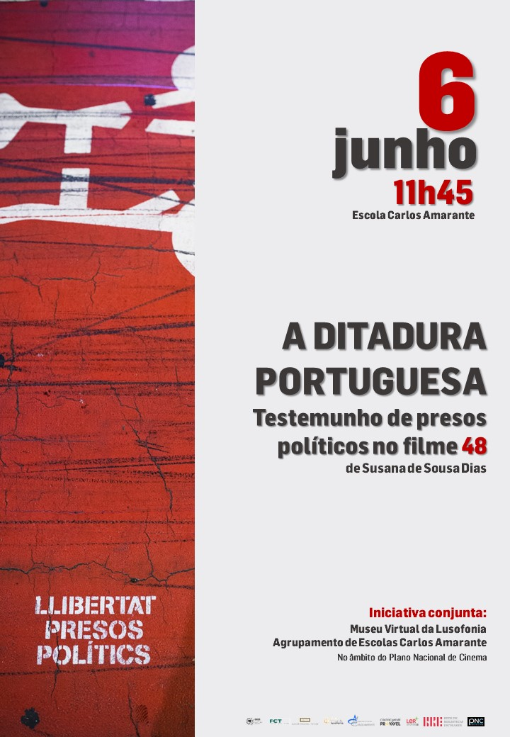 """""""A ditadura portuguesa. Testemunho de presos políticos no filme 48″"""