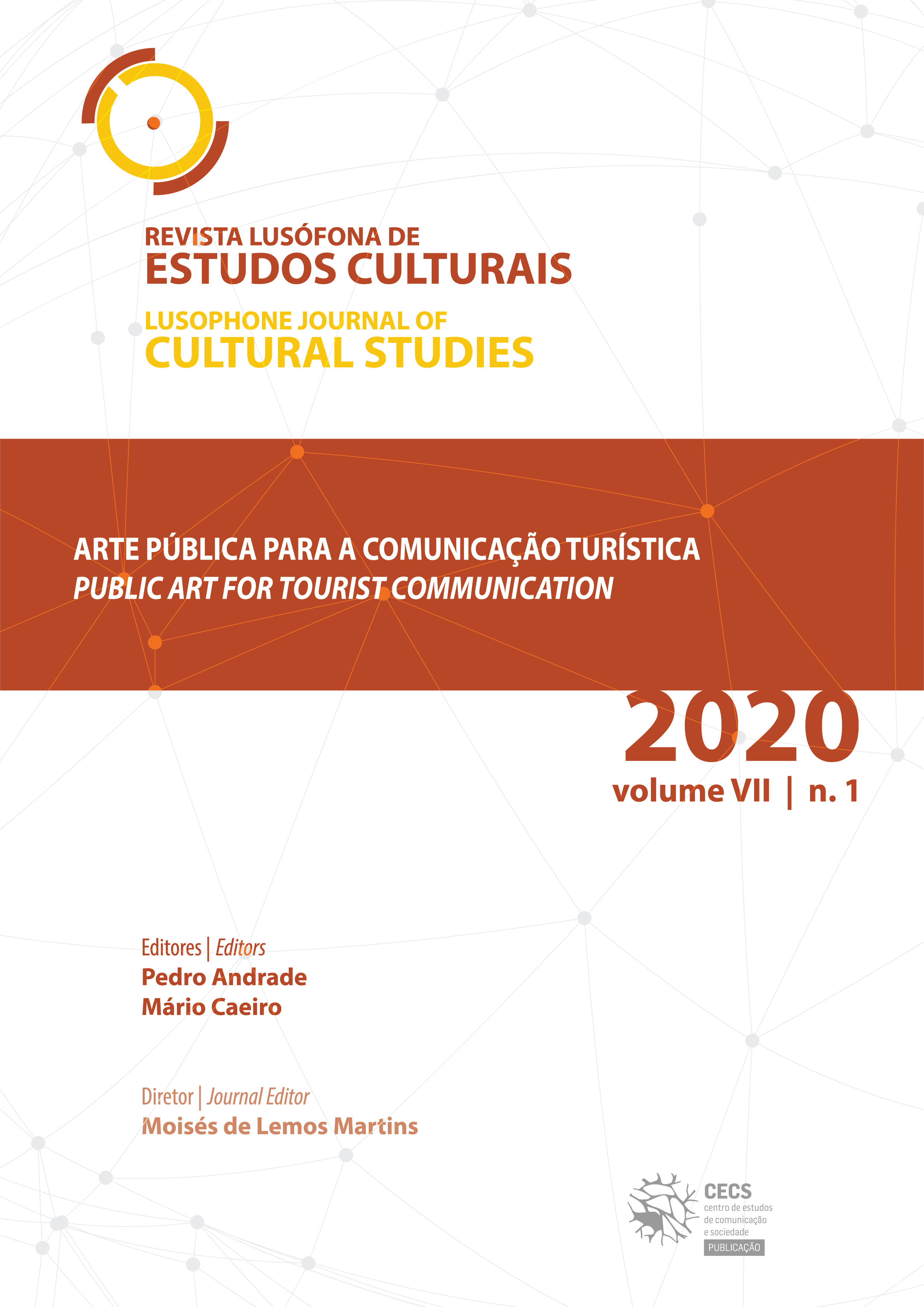 """New volume of Lusophone Journal of Cultural Studies on """"Public art for tourist communication"""""""
