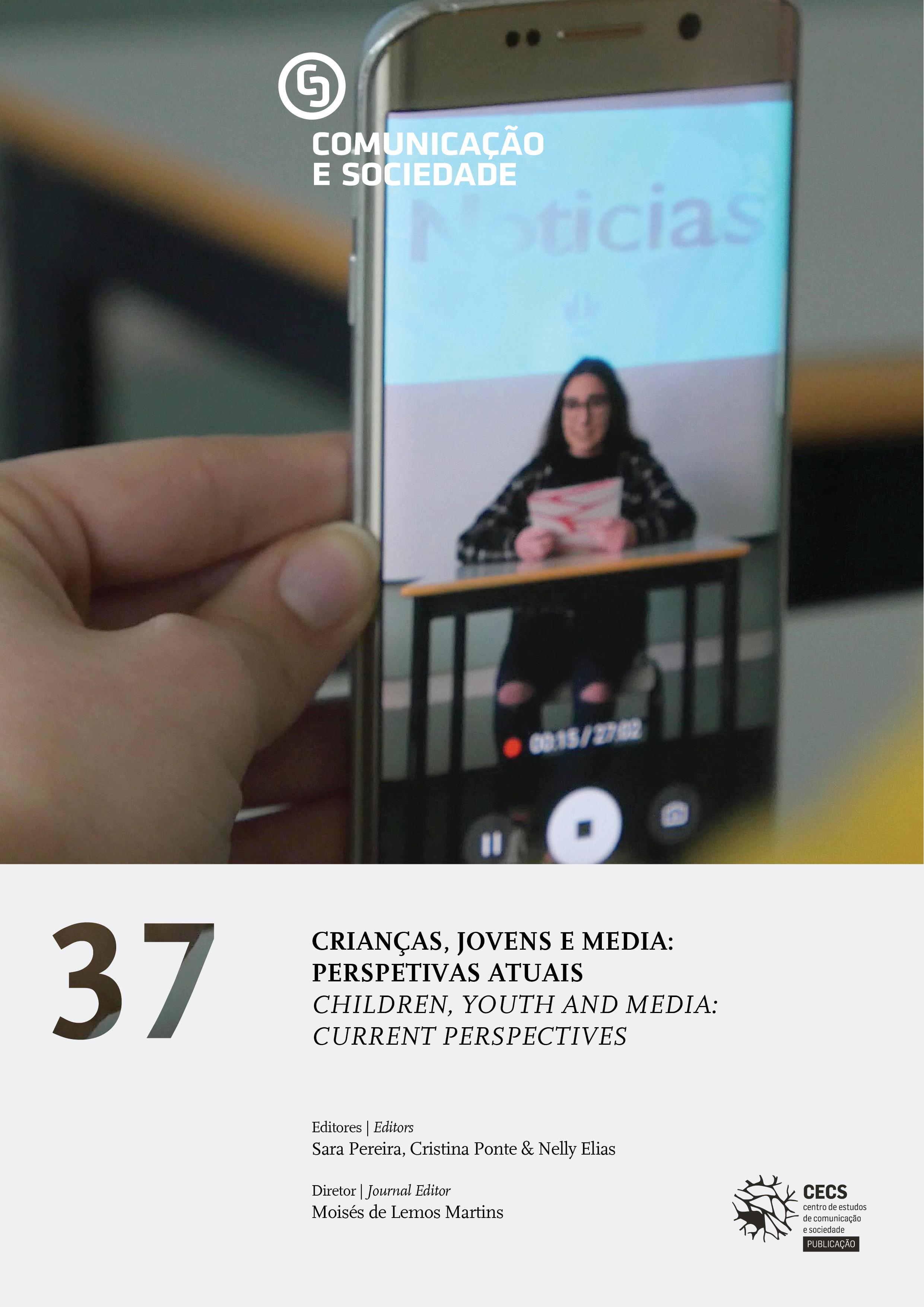"""Comunicação e Sociedade on """"Children, youth and media: current perspectives"""""""