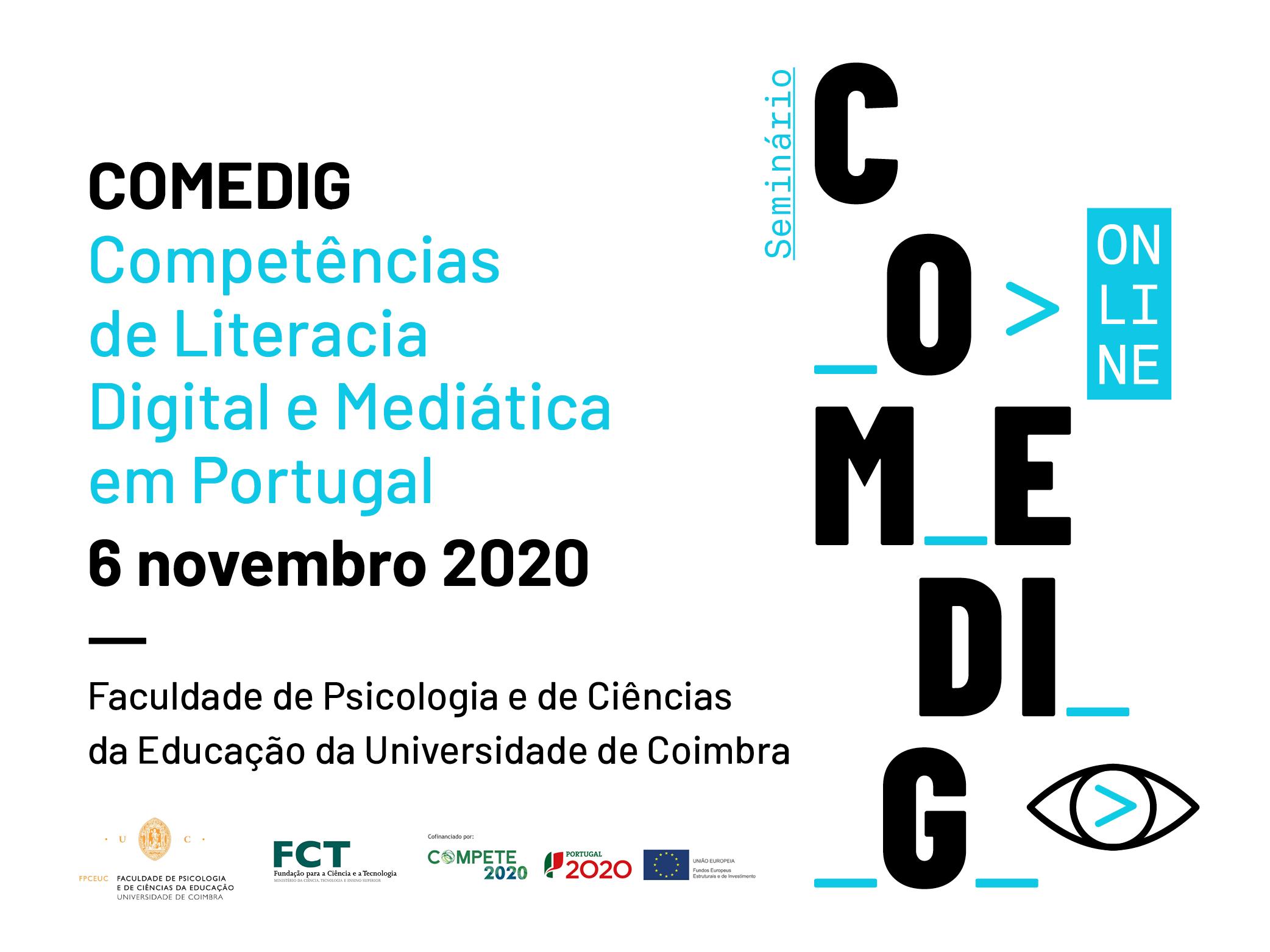 "Seminar ""COMEDIG: Digital and Media Literacy Skills in Portugal"""