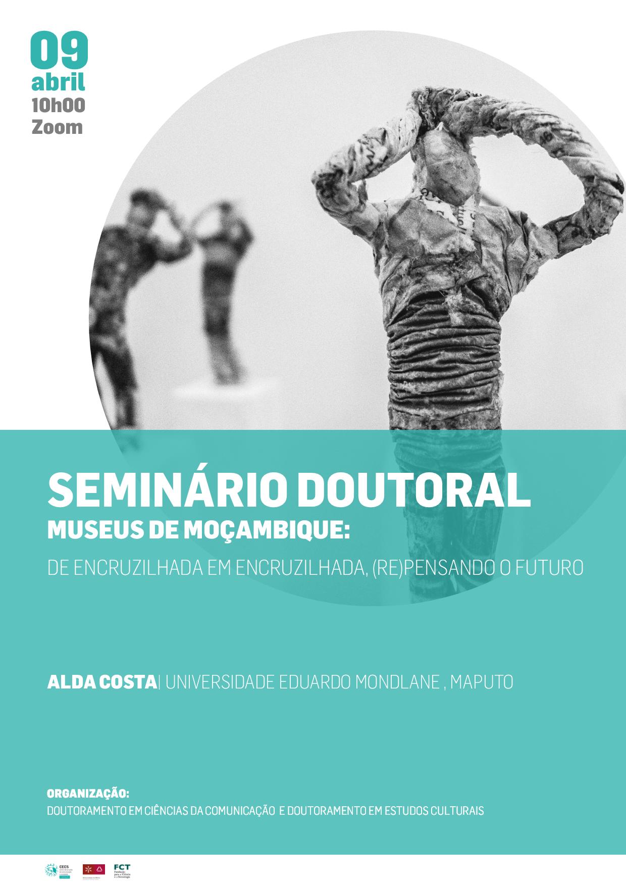 """Reveja o seminário doutoral sobre """"Museus de Moçambique: de encruzilhada em encruzilhada, (re)pensando o futuro"""""""