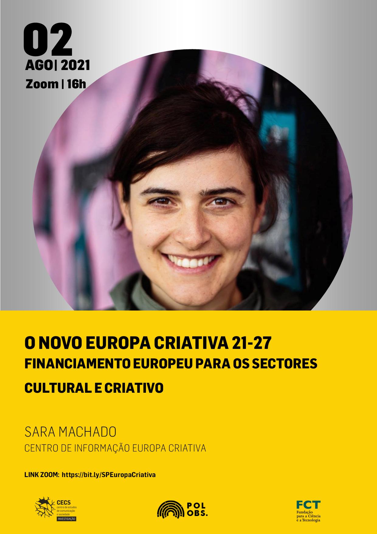 Novo Programa Europa Criativa 2021-2027 é apresentado no Seminário do POLObs