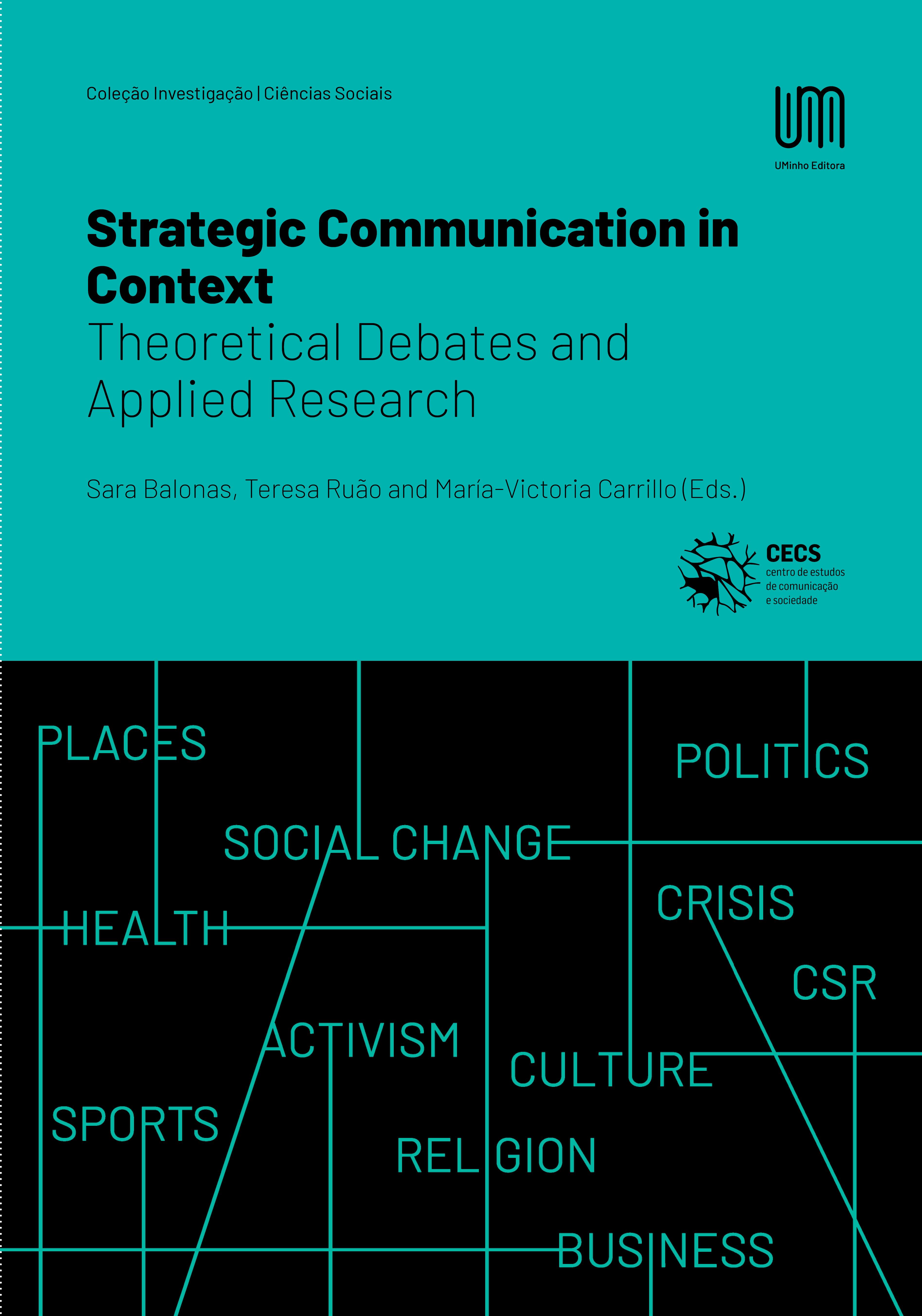 Nova publicação: Strategic Communication in Context: Theoretical Debates and Applied Research